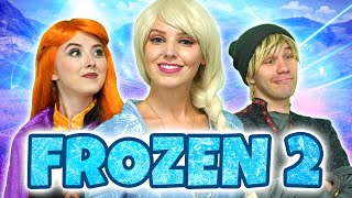 FROZEN 2 INTO THE UNKNOWN OLAF TELLS THE STORY. Totally TV Parody
