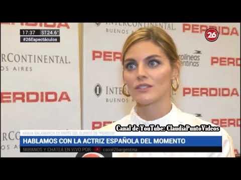 Cine: Amaia Salamanca presentación de la película
