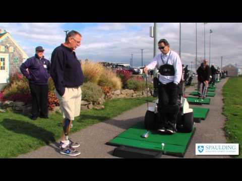 "Spaulding Adaptive Sports: ""Back in the Swing"" Program"