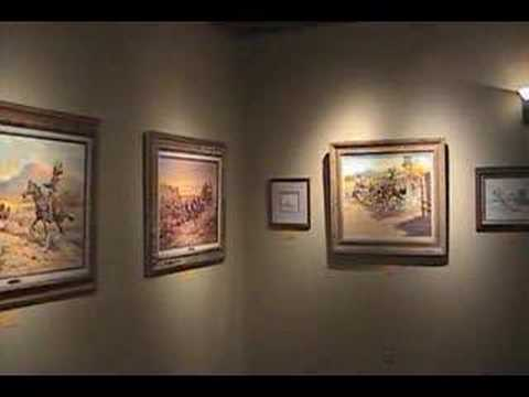 Fred Harman Exhibit at the National Ranching Heritage Center