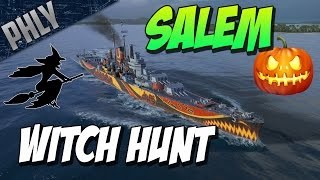 Salem WITCH HUNT! HALLOWEEN SHIPS! World Of Warships Gameplay
