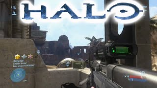 Halo MCC: 20+ Rampage Sniper Spree Halo 3 Multiplayer Gameplay Commentary Xbox One