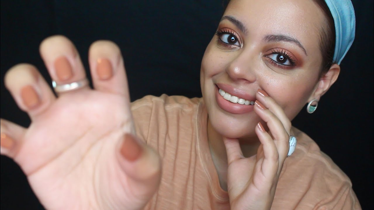 ASMR| Binaural Name Trigger with Face Brushing, Hand Movements (Patreon Appreciation)