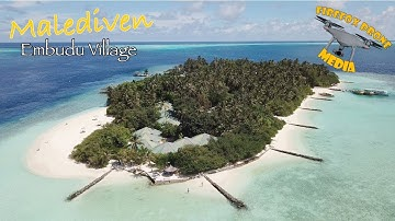 Embudu Village - Malediven 4K (Variation)