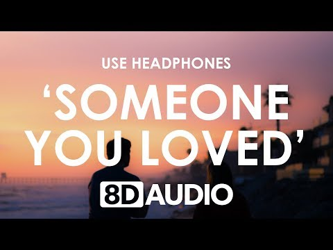 Lewis Capaldi - Someone You Loved 8D  🎧