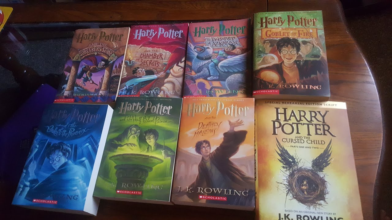 Harry Potter Book Collection : My harry potter book collection doovi