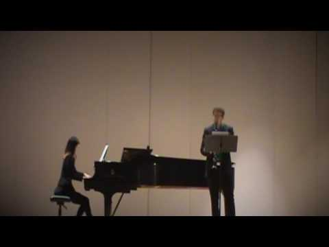 Paul Ben-Haim - Three Songs Without Words: I.Arioso. Stanislav Golovin, clarinet.