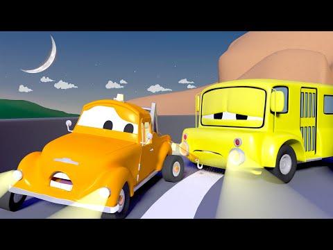 Lily precisa de energia! - Tom o Caminhão de Reboque na Cidade do Carro | Desenhos animados