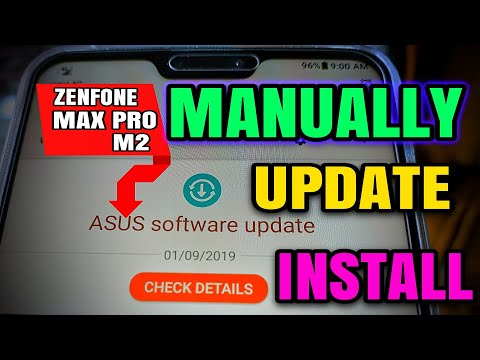Asus Zenfone Max Pro M2 Manually FOTA update install