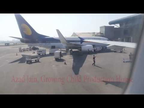 Chandigarh Airport Aeroplane Taxiway