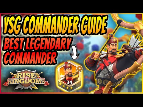 YSG ULTIMATE COMMANDERS GUIDE | The best ways to build and play YSG | Rise of Kingdoms 2020