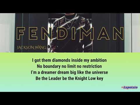 Got7 Jackson Wang - FENDIMAN Lyrics (color coded)
