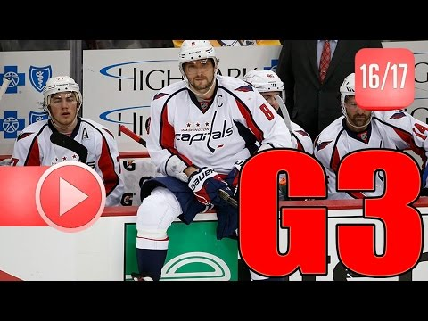 Washington Capitals vs Toronto Maple Leafs. 2017 NHL Playoffs. Round 1. Game 3. 04.17.2017 (HD)