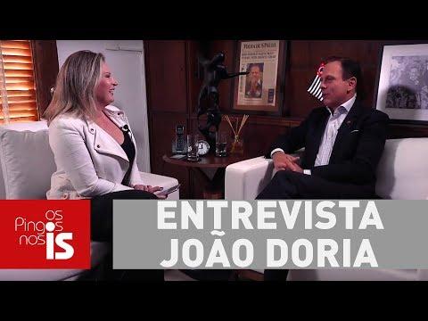 Exclusivo: Doria Afirma Que é A Favor Da Investigação Contra Temer