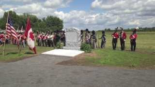 Crown Forces Monument Dedication at Sackets Harbor Battlefield - Watertown Daily Times