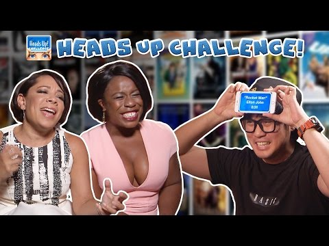 Heads Up Challenge  Featuring Uzo Aduba and Selenis Levya