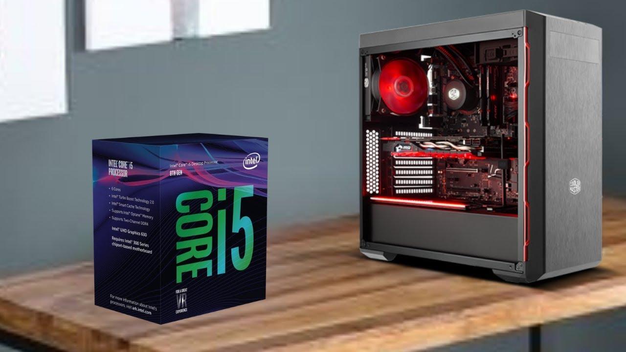 750$ Streamer pc build intel core i5-9400! - YouTube