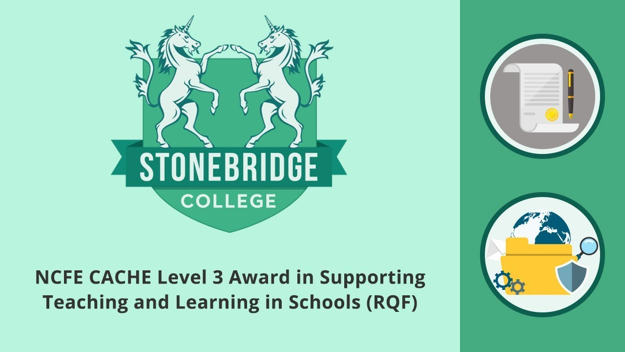 level 3 supporting teaching learning Level 2 certificate in supporting teaching and learning in schools accreditation no: 501/1136/x this is a reference number related to uk accreditation.