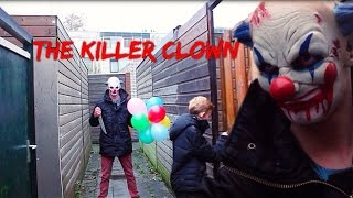 The Killer Clown (iPad iMovie Made, NO-BUDGET Amateur Horror Movie) (Home Made Cheap Slasher Film)