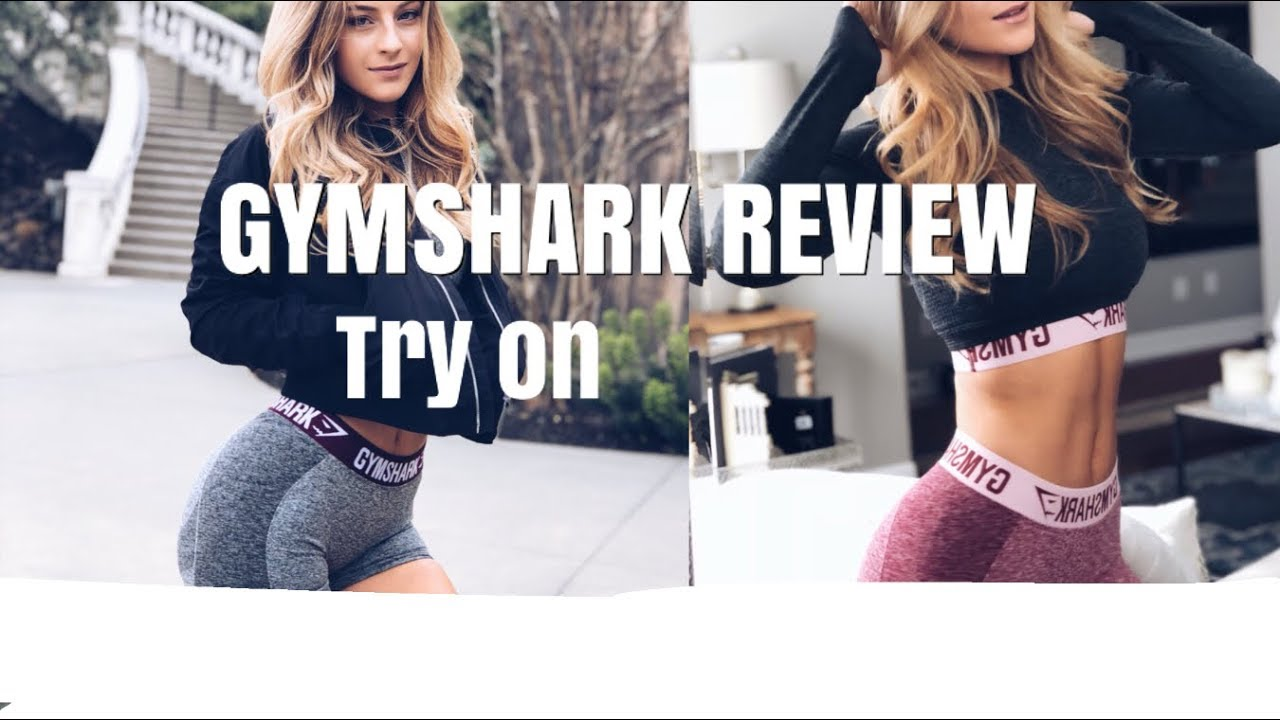MY GYMSHARK FAVORITES REVIEW(TRY ON)! what to wear to the gym! | DAISYKEECH