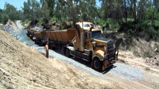ROAD TRAIN  FAIL ! !