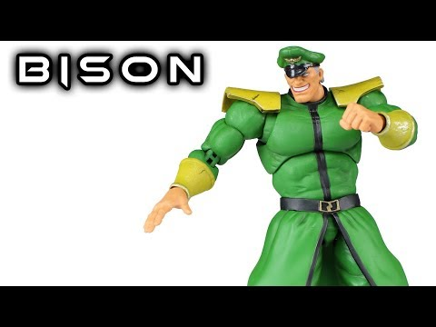 Storm Collectibles M. BISON (VEGA) Toysrus Exclusive Street Fighter V Action Figure Review