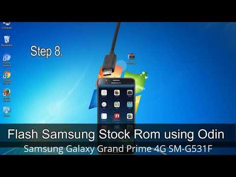 How To Samsung Galaxy Grand Prime 4G SM-G531F Firmware Update (Fix ROM)