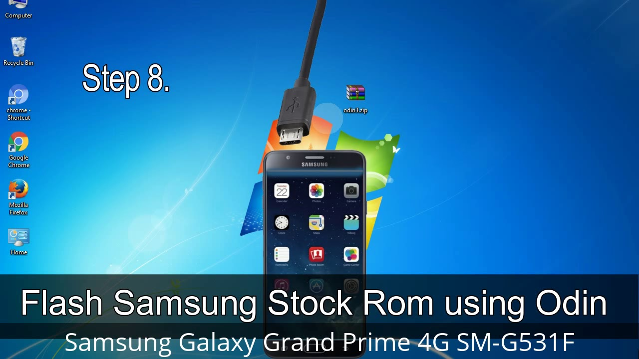 How to Samsung Galaxy Grand Prime 4G SM-G531F Firmware Update (Fix ROM)