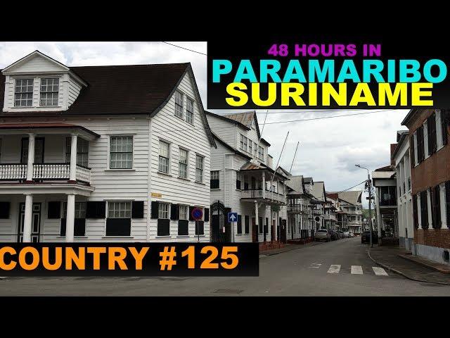 A Tourist's Guide to Paramaribo, Suriname