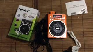 Громкоговоритель радио MP3 NNS NS-256U(Купить: www.svetovideo.ru., 2016-02-12T21:56:04.000Z)