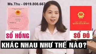 Cách phân biệt SỔ HỒNG và SỔ ĐỎ _Mà ta thường hay dễ dàng nhầm lẫn | Sài Gòn Land