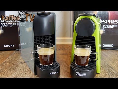 848fb3d9270913 Nespresso Essenza Mini: Vergleich der Krups- und De'Longhi Variante ...