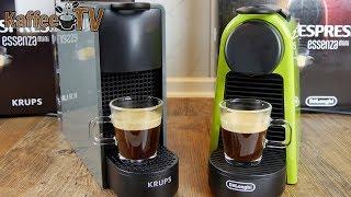 Nespresso Essenza Mini: Vergleich der Krups- und De'Longhi Variante