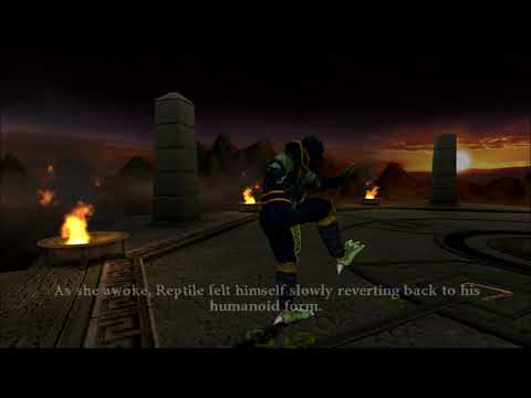 Mortal Kombat: Armageddon - Reptile's Ending