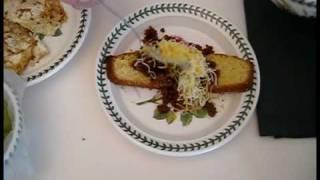 Philly Corn Bread Huevos Benedict