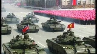 North Korea Parade Military Missile Show of Force 4-15-2017