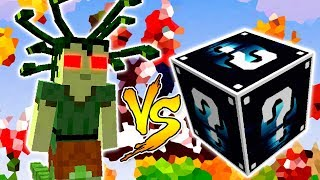 MEDUSA VS. LUCKY BLOCK LUA (MINECRAFT LUCKY BLOCK CHALLENGE)