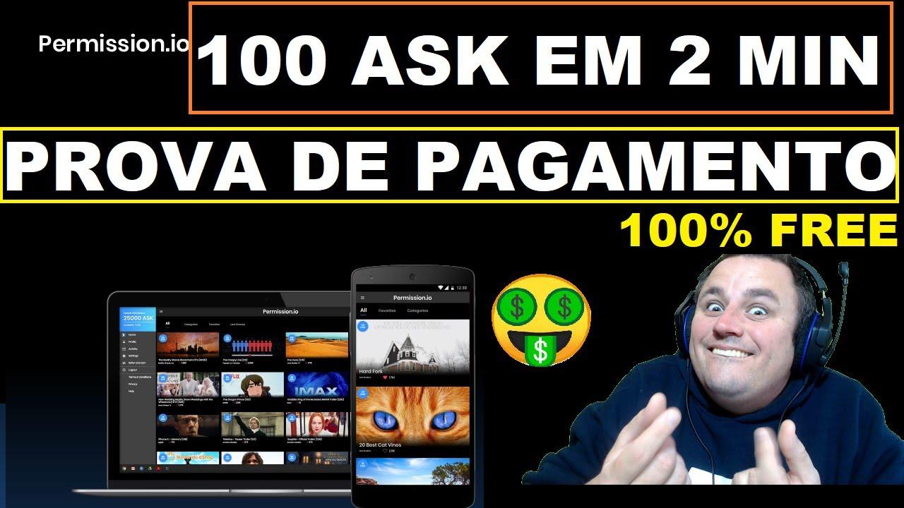 GANHE 100 MOEDAS ASK NA HORA CORRE QUE DEU MUITO BOM ISSO!!!