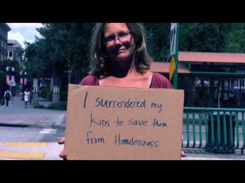 Cardboard Stories  Homeless in Orlando