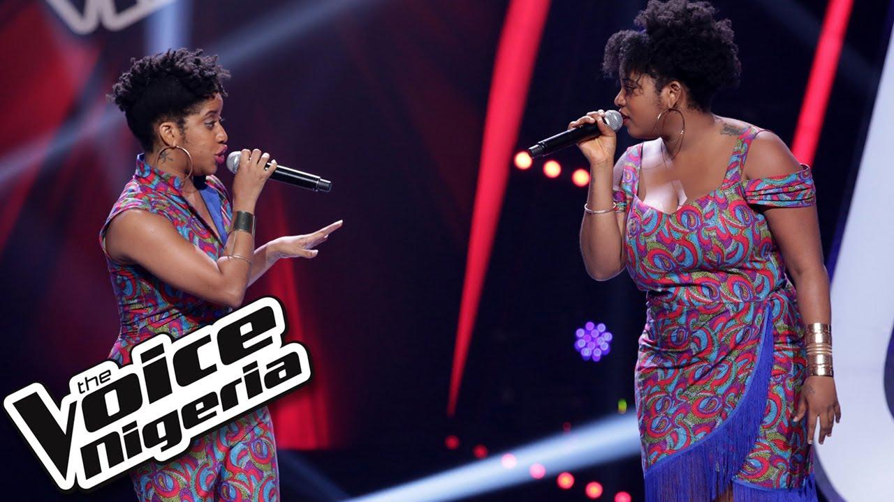 "Download Tara and Bella sing ""Heartbreak Hotel / Blind Auditions / The Voice Nigeria Season 2"