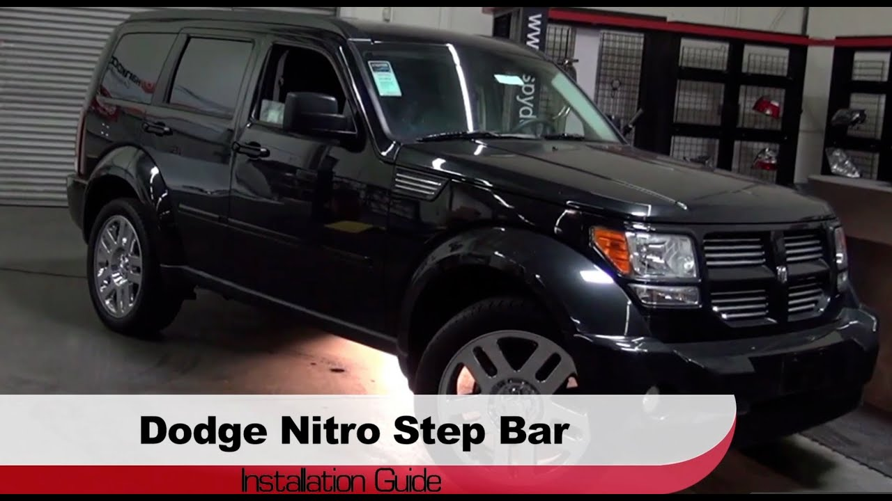 Spyder Auto Installation 2007 2010 Dodge Nitro Step Bars