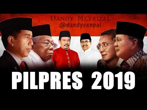 What If PILPRES INDONESIA 2019 Had An Anime Naruto Opening?