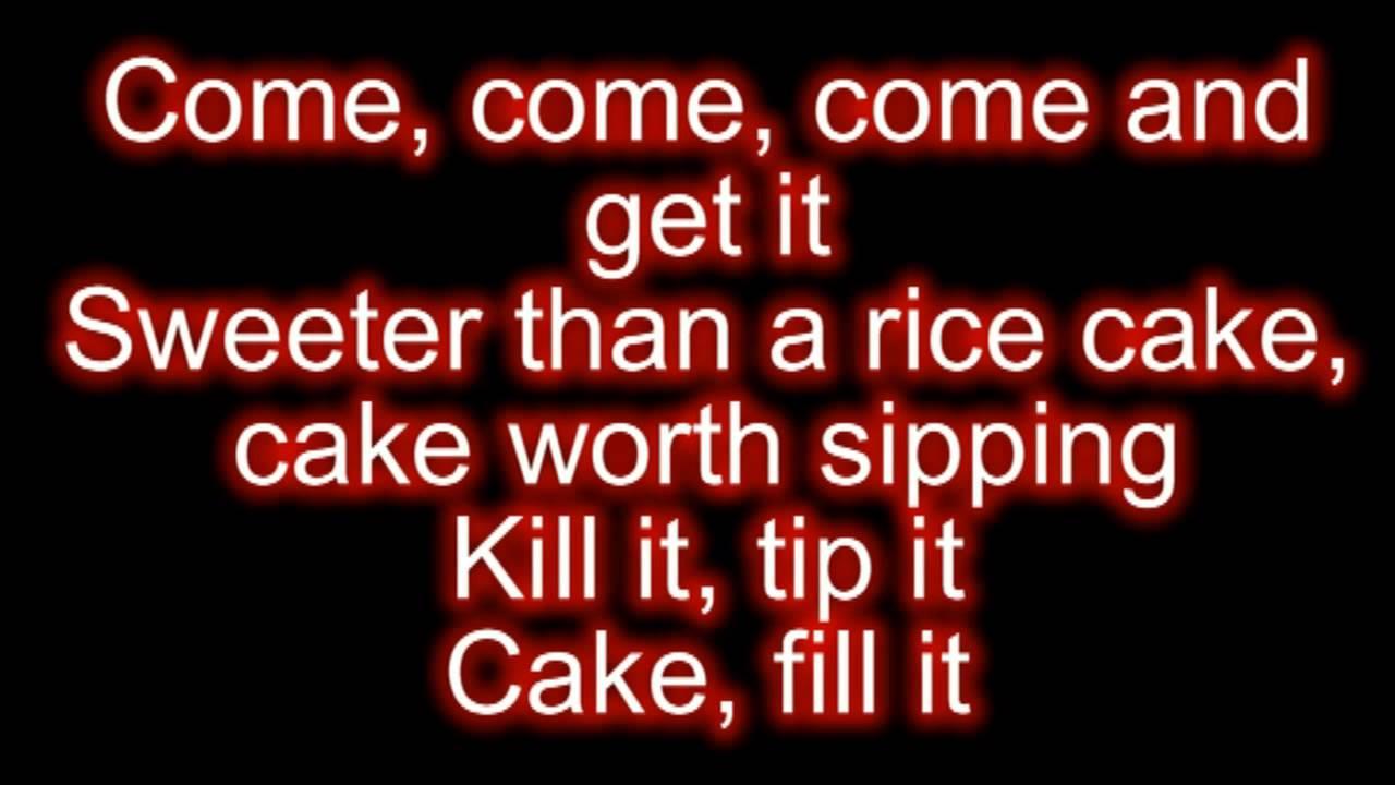 Rihanna ft Chris Brown Birthday Cake Remix Lyrics YouTube