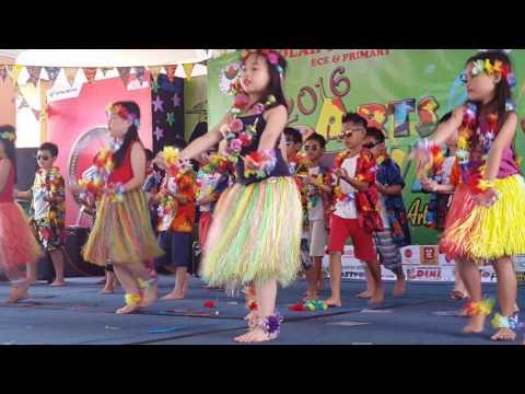 Hawaii dance from tunas bangsa school pontianak