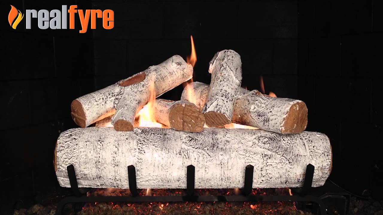 white birch for the fireplace youtube