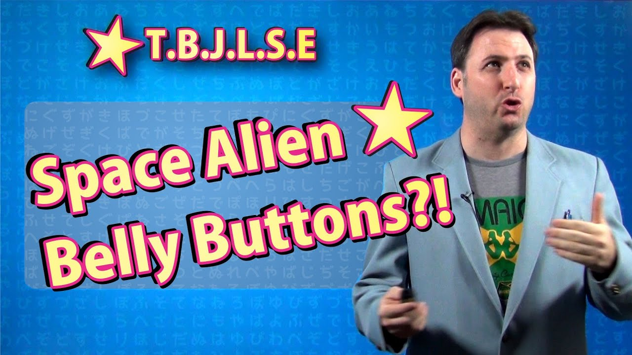 The Best Japanese Learning Show Ever! - Space Alien Belly Buttons?!