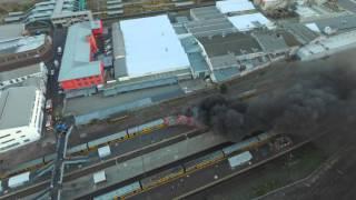Cape Town Metro Rail Fire