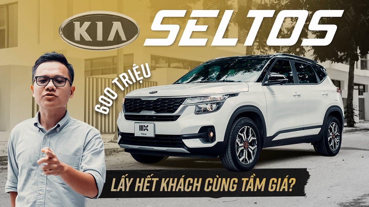 600 triệu, Kia Seltos bản BASE dù thiếu nhưng vẫn hút nhiều khách cùng tầm giá!