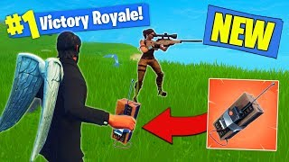 *NEW* C4 Remote Explosive GAMEPLAY In Fortnite Battle Royale!