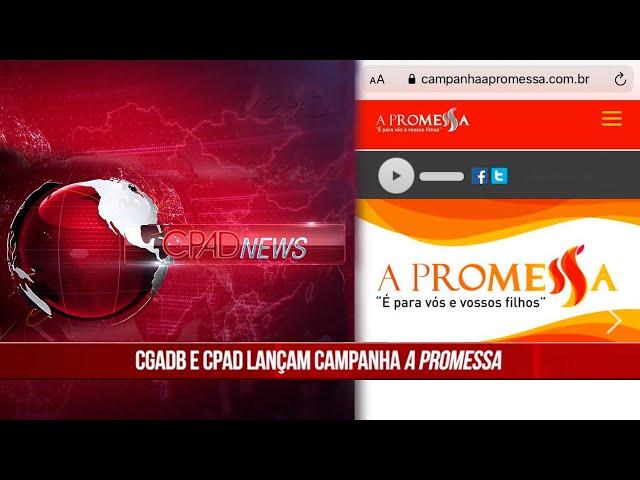 Boletim Semanal de Notícias CPAD News 197